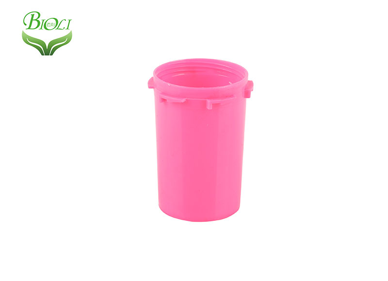 Plastic Coloful Smell Proof Hemp Weed Reversible Vials Child Resistant Container