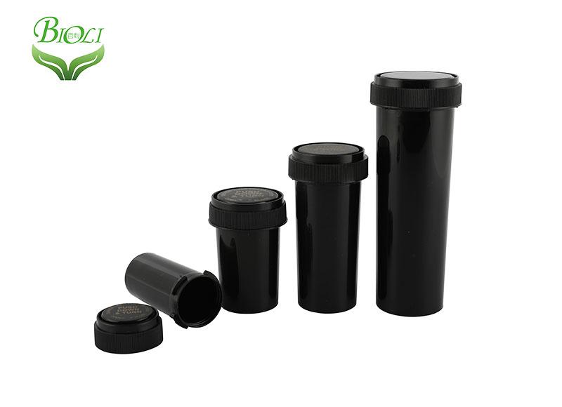 Plastic Push Down and Turn Reversible vial,Plastic medical vial