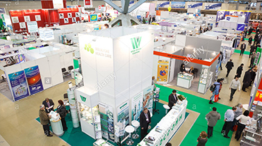 Tiantai biolife plastic take part in an exhibition in 2018