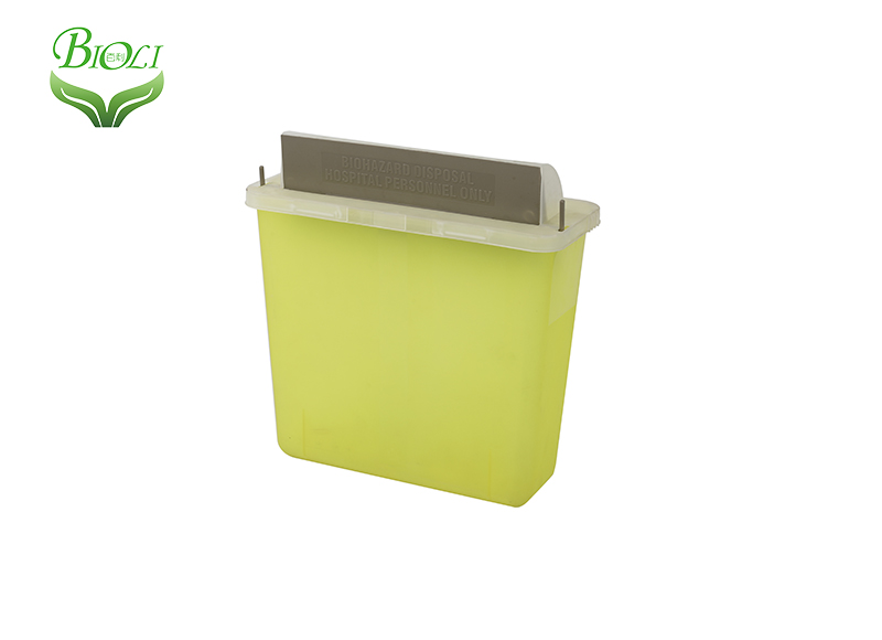 transparent yellow uae market hot selling Sharp Container