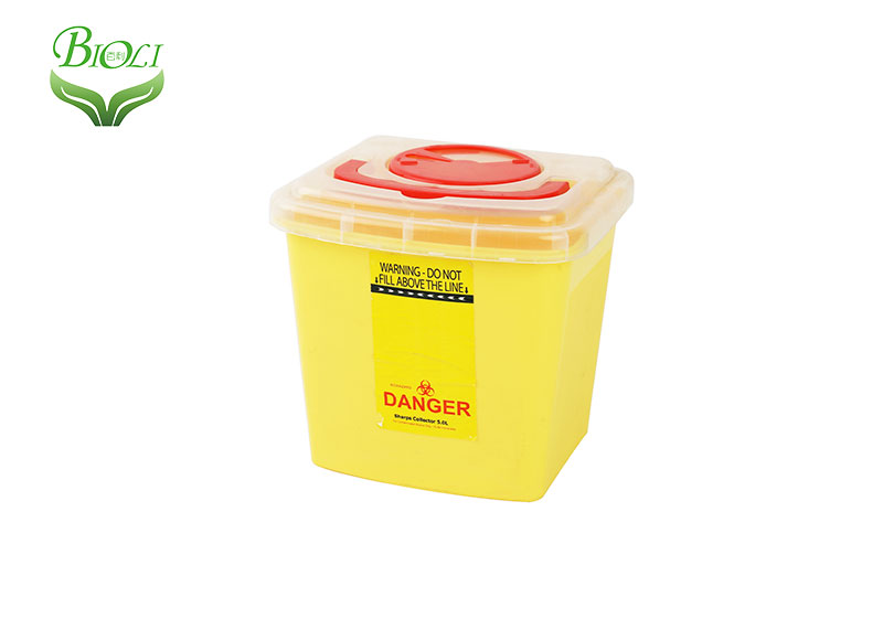 OEM 3l 5l 10l 12l 21l 22l yellow sharps container