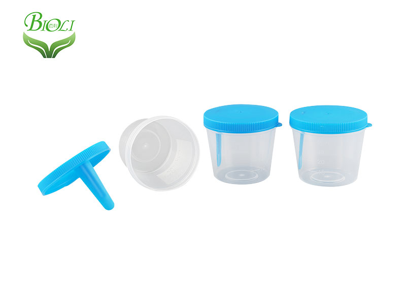 Hospital disposable male female plastic collection specimen sample urine container