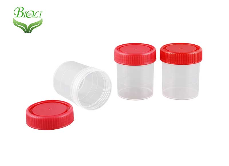 60ml Disposable Stool Specimen Container