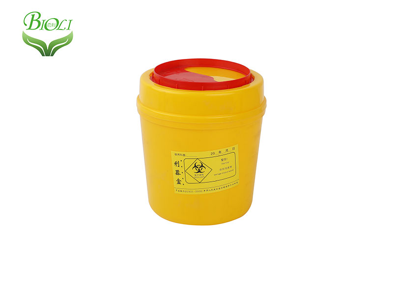 Hot selling 6Liter Round Sharp Container