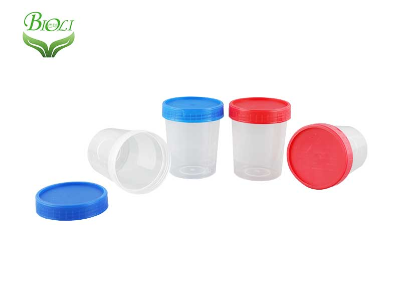 Medical Disposable Sputum Urine Stool Specimen Container with Spoon