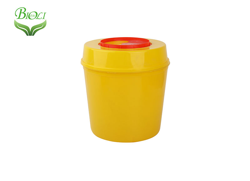 Cheap Disposable Plastic Medical Sharp Safe Container 1L 2L 3L 4L 5L 10L