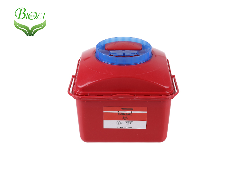 Disposable Medical Containers, sharp container 5/10L