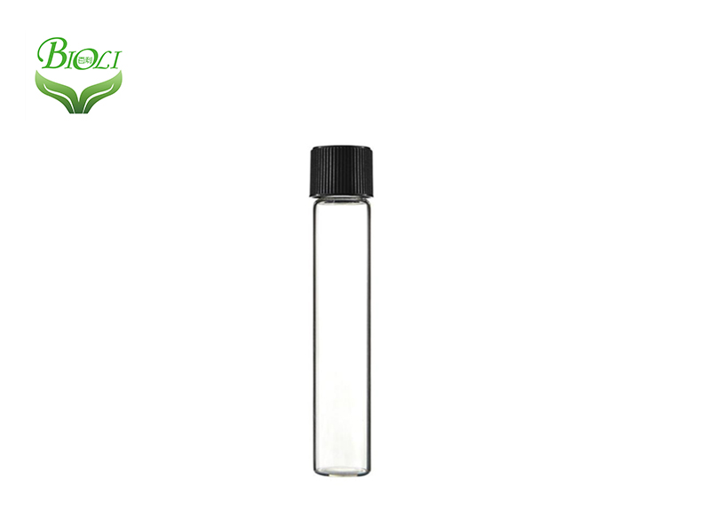 Clear Test Tube Glass/plastic ps With Cork