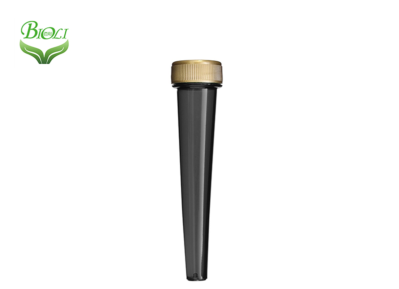 Pre Rolled Cone Vial Child Proof Prescription Cigar Weed Storage Doob Joint, 120mm Joint Blunt Top Doob Package Tube